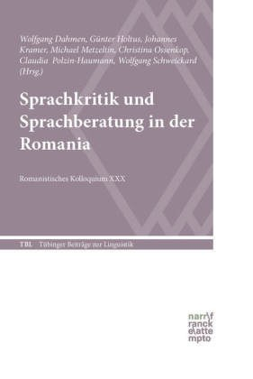 Cover Sprachkritik Romania