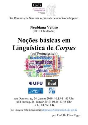 Workshop Portugiesische Korpuslinguistik